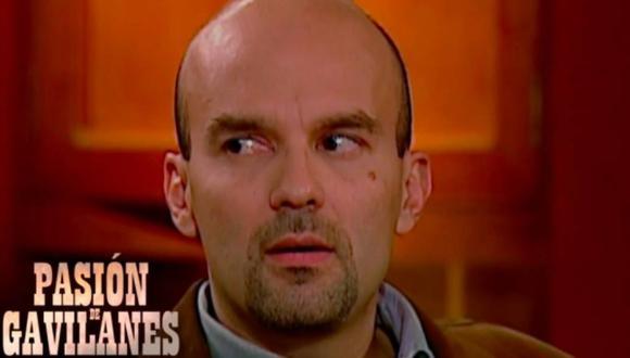 """Andrés Felipe Martínez dio vida a Malcolm Ríos en """"Pasión de gavilanes"""" (Foto: Caracol TV)"""