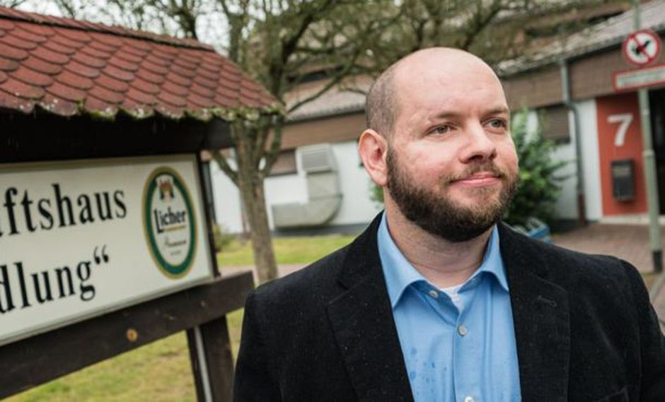 Stefan Jagsch fue elegido sin oposición, porque ningún otro candidato se presentó en su municipio de alrededor de 2.500 habitantes. (AFP).