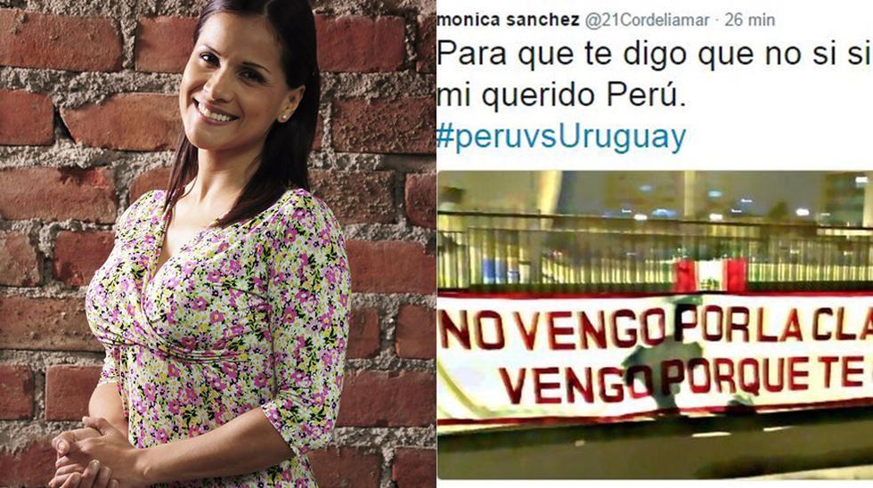 Perú vs. Uruguay: famosos peruanos vivieron así el encuentro - 2