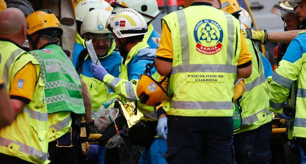 España   Derrumbe en hotel Ritz de Madrid deja al menos un muerto y 11 heridos. (Reuters).