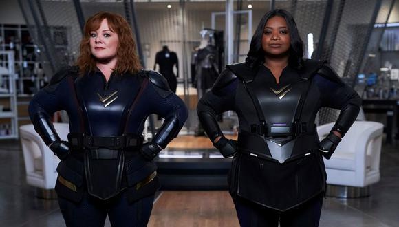 Melissa McCarthy y Octavia Spencer dan vida a dos superheroínas que llegan para romper con los moldes de lo establecido en este género del cine. La cinta forma parte del Top 10 de producciones más vistas en el Perú y, por eso, nos dimos la tarea de verla. (Foto: Netflix)
