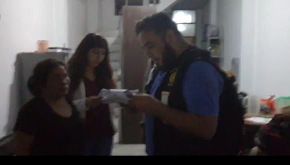La detención de los presuntos implicados se dio este viernes. (Captura de video: Fiscalía)