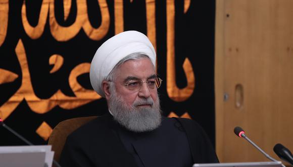 """Rohani también destacó que Irán """"nunca"""" ha comenzado un acto de agresión ni ha sido el primero en violar un acuerdo. (Foto: AFP)"""