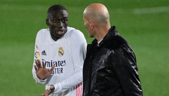 Ferland Mendy ha participado en 38 partidos de Real Madrid en la presente temporada. (Foto: AFP)