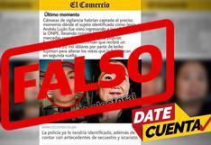 #DateCuenta: la falsa noticia atribuida a El Comercio sobre un supuesto fraude electoral