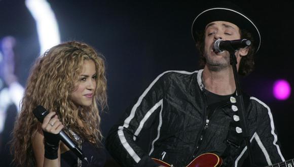Shakira le envía carta de aliento a madre de Gustavo Cerati