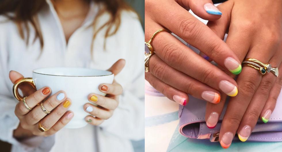 Conoce los diseños en uñas que reinarán este año. Recorre la galería para conocer más detalles. (Foto: @sxdie_j)