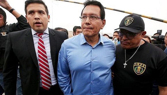Félix Moreno se encuentra el la cárcel por el delitos de colusión. (Foto: GEC)