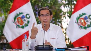 Martín Vizcarra exhorta a no bajar la guardia frente a la COVID-19