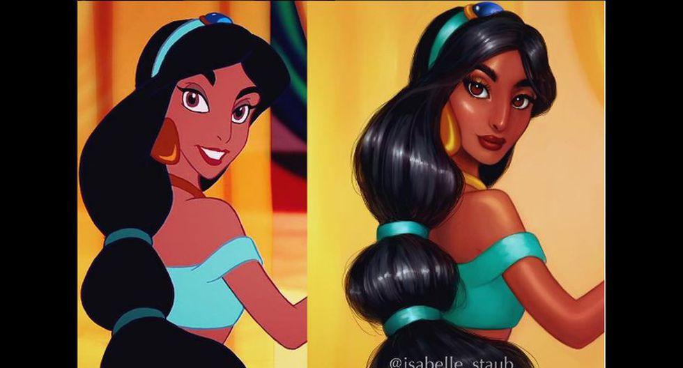 Artista pinta princesas Disney y les da toque más realista - 1