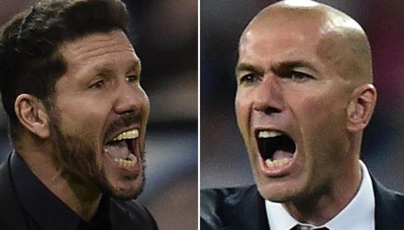 Simeone vs. Zidane: un líder versus el rey en la Champions