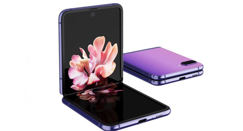 Conoce todas las características del Samsung Galaxy Z Flip, un celular que se dobla en dos. (Foto: Samsung)