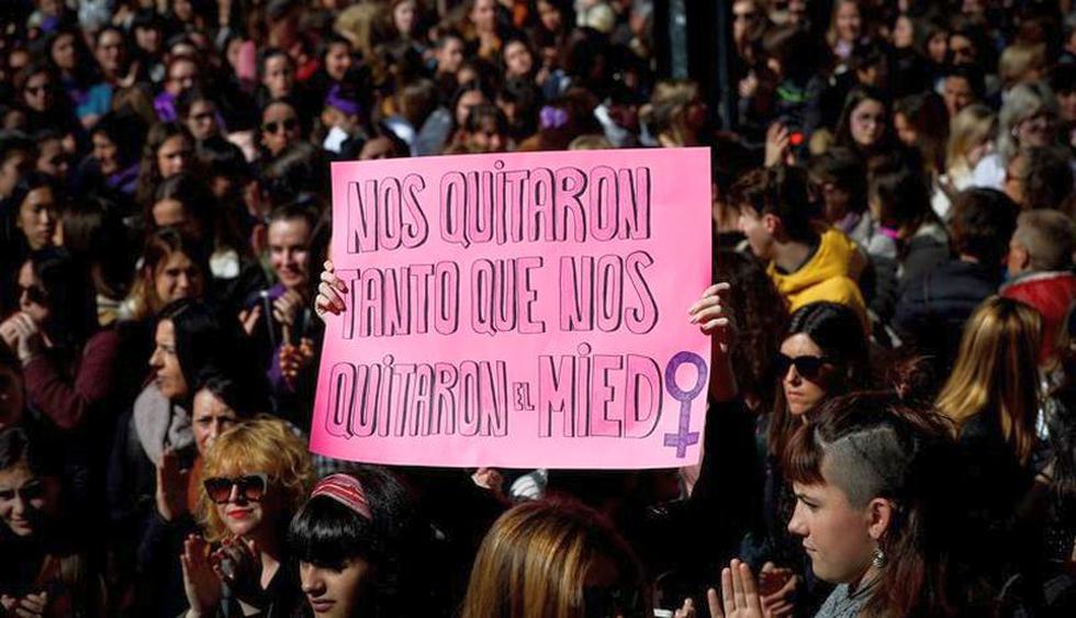 Así se conmemora el Día de la Mujer en el mundo. (Foto: EFE)