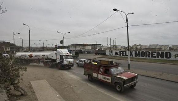 Av. Néstor Gambetta: restringirán tránsito de vehículos pesados