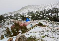 Huancavelica: intensa granizada afecta más de 70 hectáreas de cultivo en Acoria