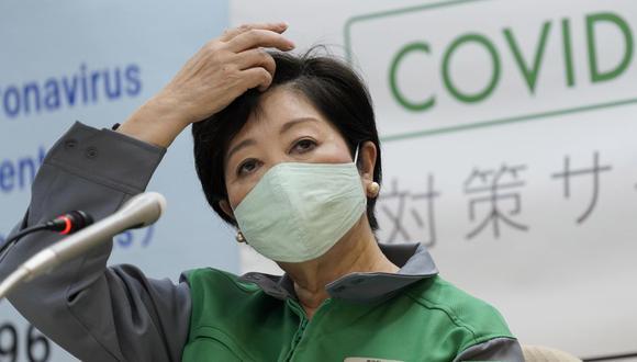 La gobernadora de Tokio,  Yuriko Koike,  se pronunció ante el aumento de la cifra de infectados  por el nuevo coronavirus. (Foto de archivo: EFE)