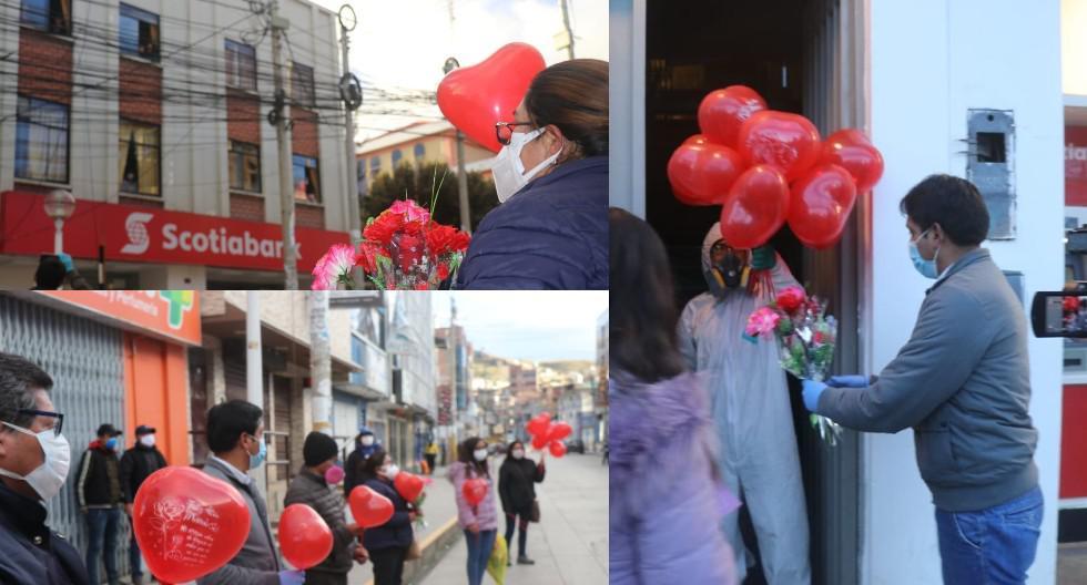 Pasco: Madres que cumplen cuarentena en hotel fueron agasajadas. (Foto: Gobierno Regional de Pasco)