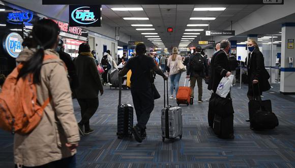Estados Unidos exigirá test de coronavirus negativos a todos los turistas que quieran visitar el país. (Foto: ANDREW CABALLERO-REYNOLDS / AFP).