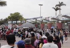 San Miguel: reportan largas colas para ingresar al Parque de las Leyendas | FOTOS