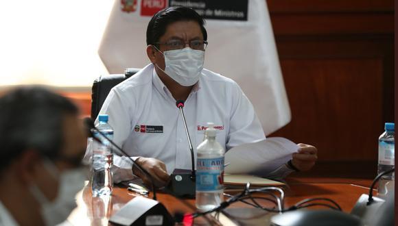 Vicente Zeballos lamentó decisión del Congreso de archivar proyectos relacionados al deshacinamiento de los penales.  (Foto: PCM)