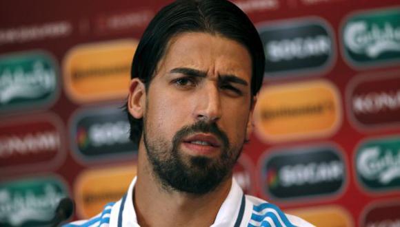 Khedira se lesionó y será baja por dos meses en Juventus