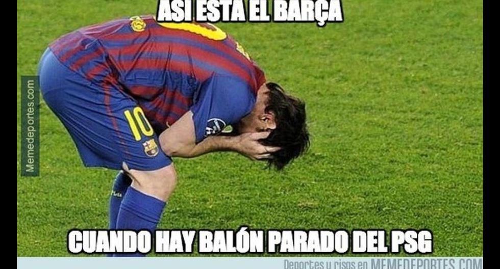 La caída del Barcelona ante PSG fue el centro de estos memes - 12