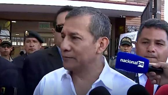 Expresidente Ollanta Humala Tasso, investigado por el caso Odebrecht acudió a votar