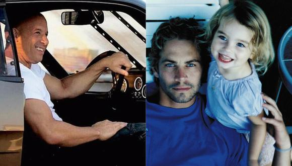 Hija de Paul Walker comparte fotografía junto a los hijos de Vin Diesel con emotivo mensaje.  (Foto: Instagram)