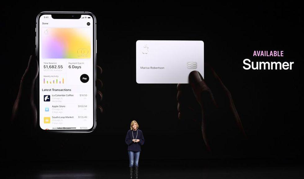 Apple Card. (Foto: Bloomberg)