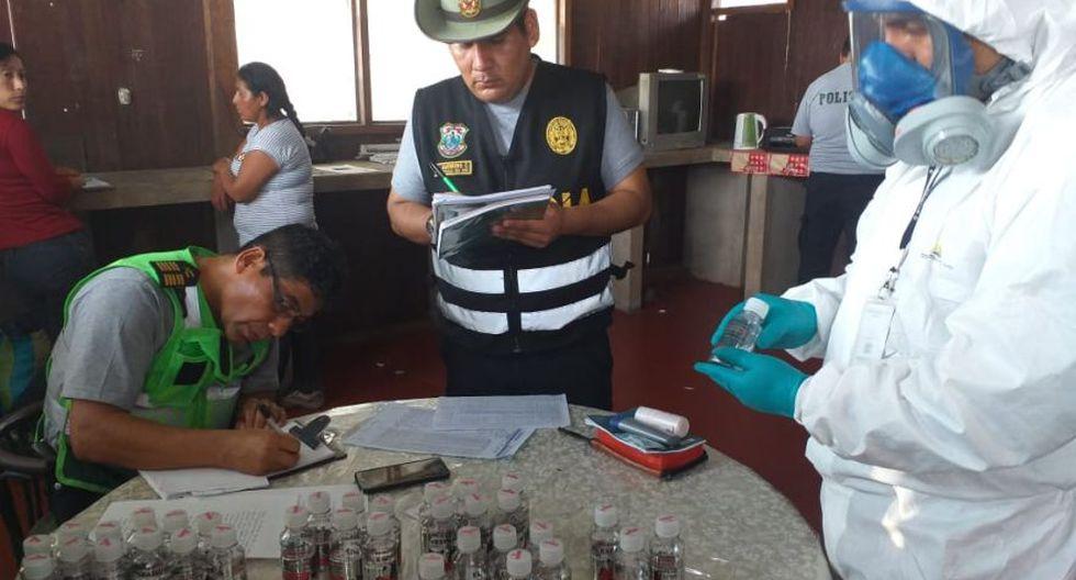 Madre de Dios: incautan 34,9 kilos de mercurio destinados a la minería ilegal. (Foto: PNP)
