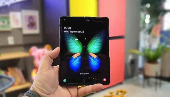 El Comercio tuvo en sus manos el esperadísimo Galaxy Fold de Samsung. Lo probamos y te contamos si vale la pena. (Foto: Bruno Ortiz B.)