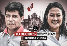 Resultados ONPE al 99.888% de actas contabilizadas: Pedro Castillo 50.145% y Keiko Fujimori 49.855%