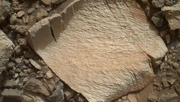 Curiosity encuentra extraña roca de sílice en Marte