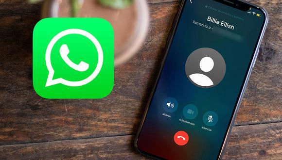 Conoce cómo poder cambiar de una llamada y videollamada de WhatsApp. Mira todos los pasos. (Foto: Mockup)