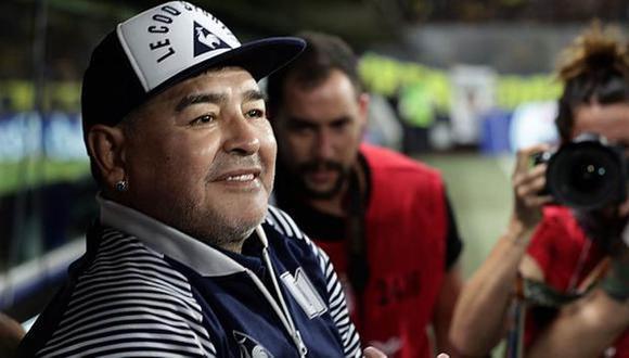 Diego Armando Maradona, ex entrenador de Argentina, murió a los 60 años. (Foto: AFP)