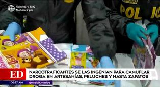Narcotraficantes camuflan droga en peluches y sorpresas de fiestas infantiles