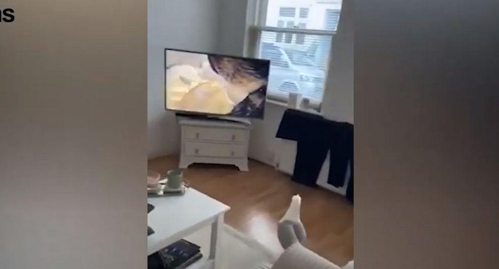 El video es viral en YouTube.