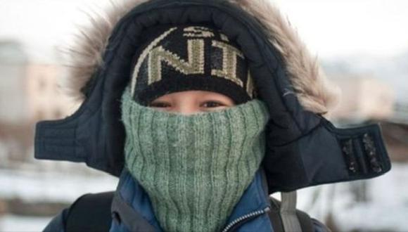 Algunos lugares del este de Siberia han alcanzado temperaturas de hasta -68º C.