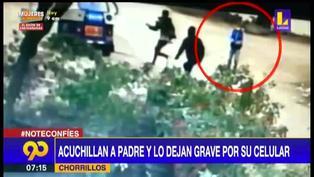 Chorrillos: hombre es acuchillado por resistirse al robo de su celular y queda grave