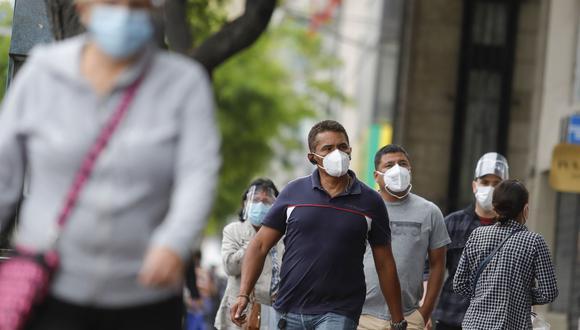 Según el Minsa, hasta el momento el número acumulado de muertos por la pandemia de COVID-19 es de 44.489 personas. El número de contagios es de 1′261.804. Foto: ANDINA/Renato Pajuelo