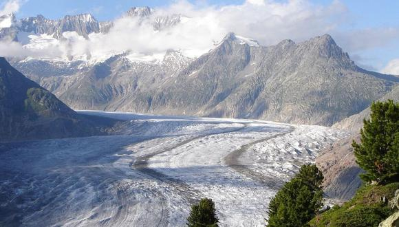 Sólo entre 2017 y 2018 los glaciares del país centroeuropeo perdieron 1,4 kilómetros cúbicos de agua. (Foto: Creative Commons)