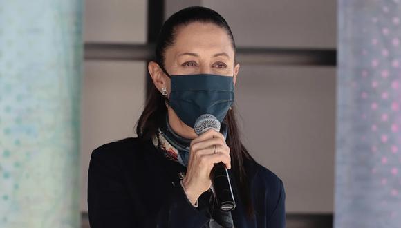 La alcaldesa de Ciudad de México, Claudia Sheinbaum, anuncia que dio positivo a coronavirus. (Foto: El Universal de México, GDA).