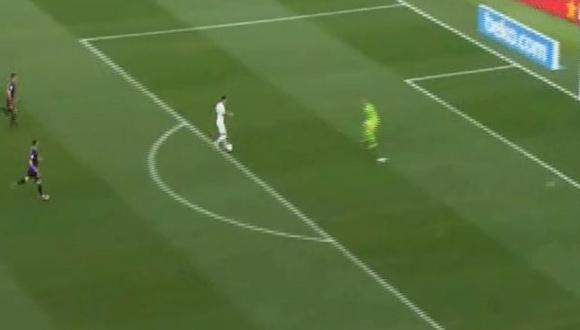 Barcelona vs. Boca Juniors: Mauro Zárate falló increíble opción de gol. (Foto: Captura de video)