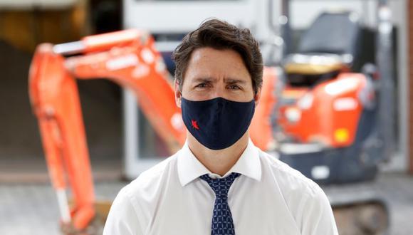 El primer ministro de Canadá, Justin Trudeau, visita un sitio de construcción para resaltar las políticas de vivienda asequible en Ottawa, Ontario, Canadá. (Foto: REUTERS / Blair Gable).