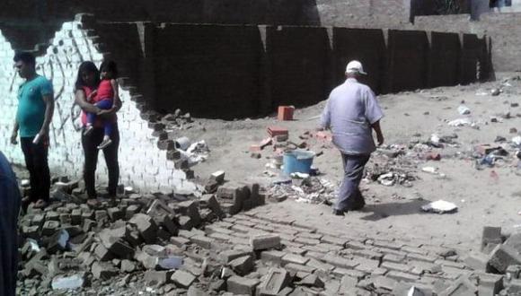 Cajamarca: niña murió sepultada por pared que impactó un rayo