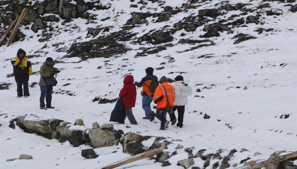 Senamhi alerta sobre heladas y nevadas a partir de mañana