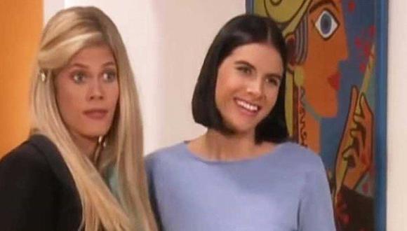 Lorna Cepeda y Natalia Ramirez se reunieron a través de un en vivo en Instagram y fueron insultadas (Foto: RCN Televisión)