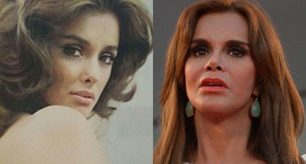Lucía Méndez: los cambios de la actriz mexicana con el pasar de los años. (Foto: Instagram)