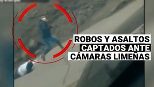 Mira estas Imágenes de robos y asaltos captados por cámaras