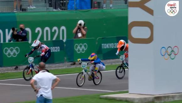 Colombiana Mariana Pajón logró la medalla de plata en Tokio 2020 | Foto: Marca Claro.
